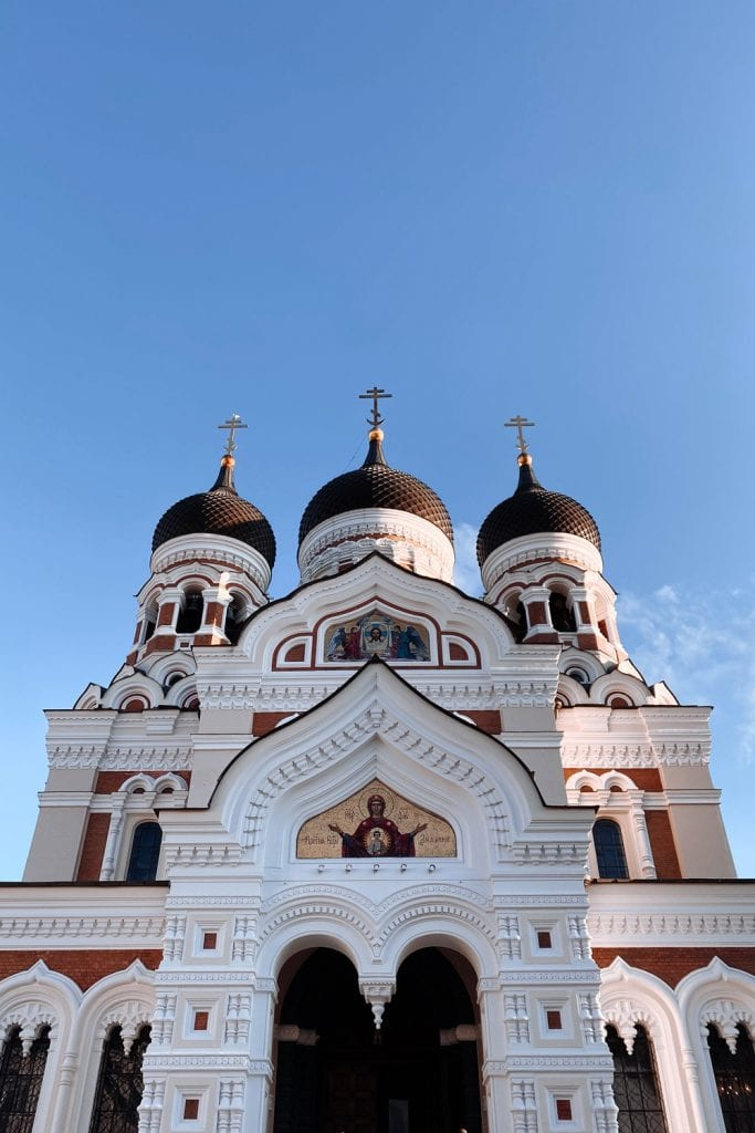 photo of a cathedral in estonia