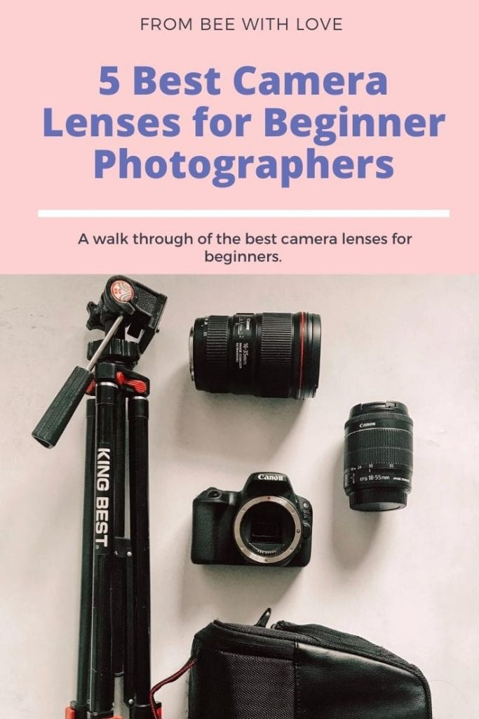 pin an article camera lenses for beginners