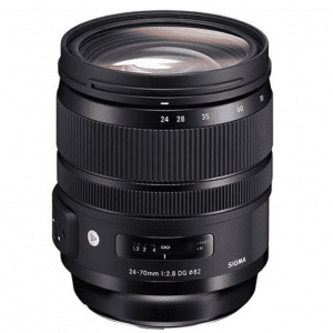 the sigma 24-70mm lens