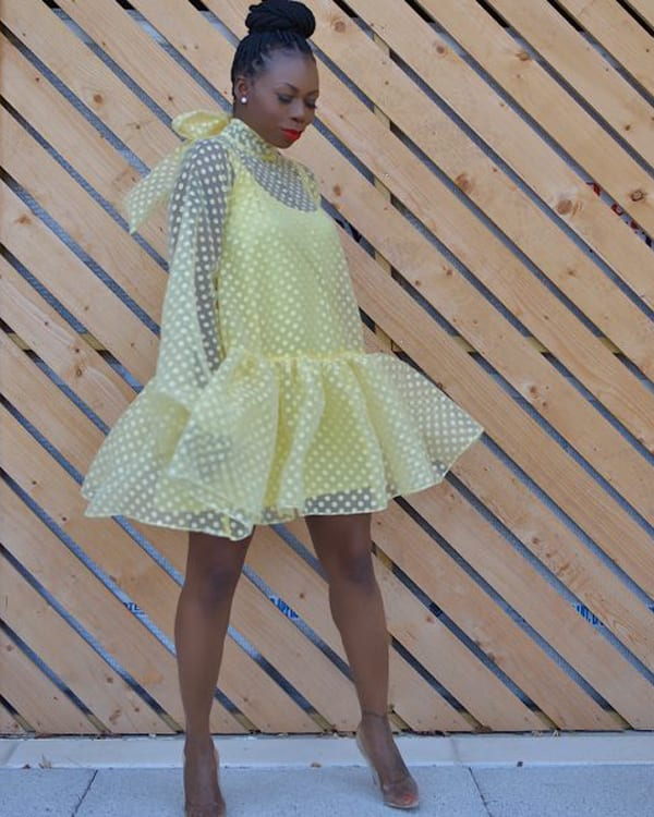 photo of a yellow dress available from thekemist.com