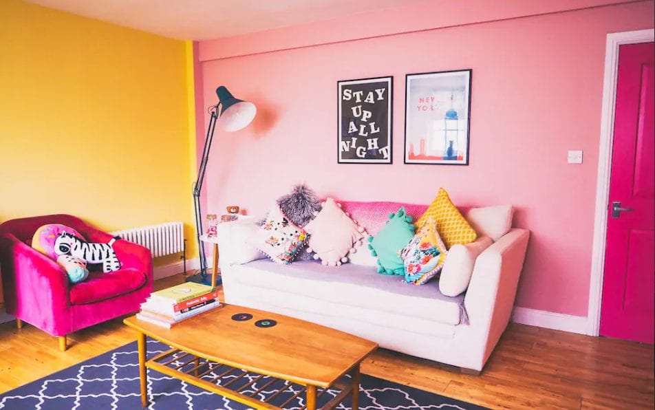 Colourful apartment in Margate