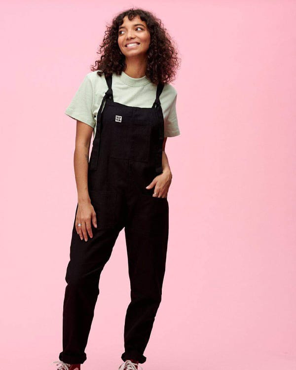 black lucy and yak dungarees