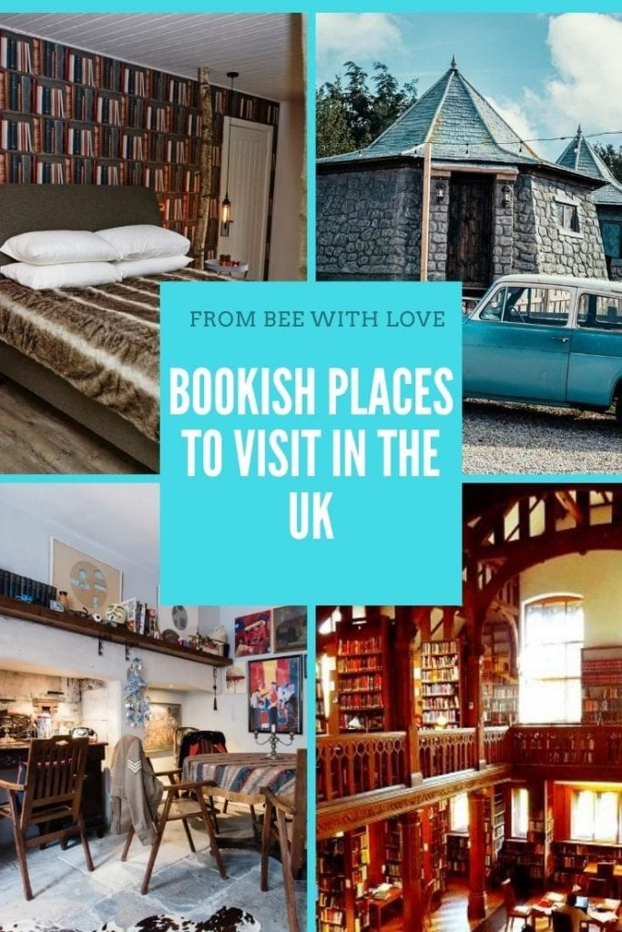 Pin about Bookish Places in the UK