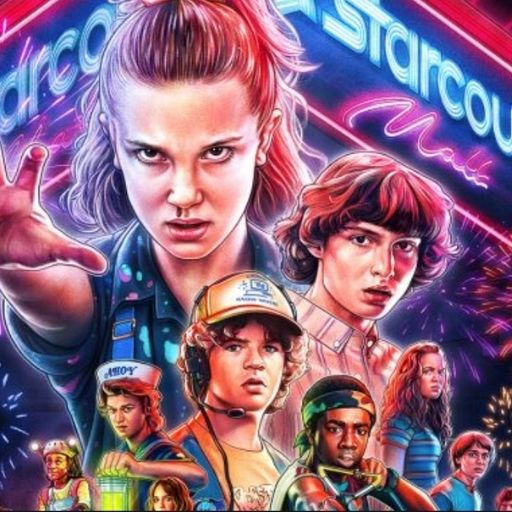 2021 TV Watchlist Stranger Things Bronte Huskinson @FromBeeWithLove