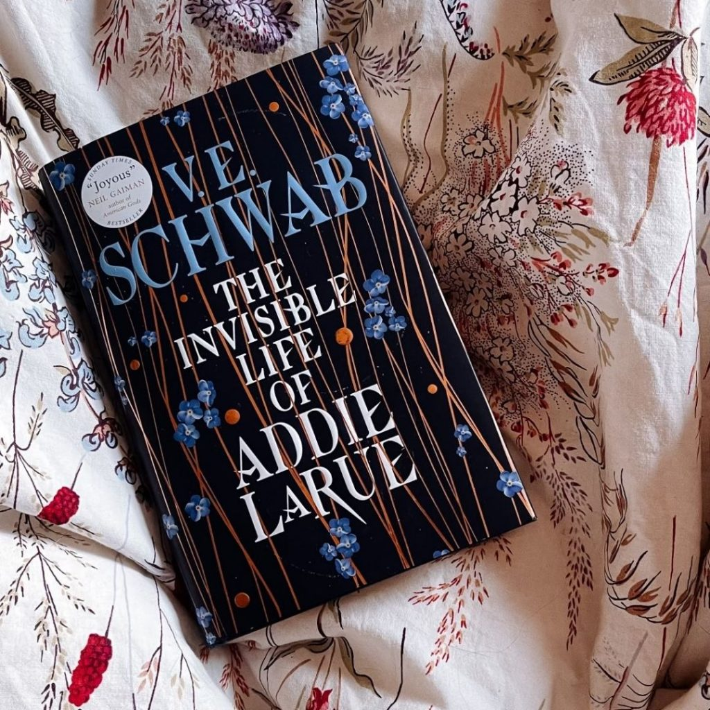 The invisible life of addie larue @FromBeeWithLove Bronte Huskinson