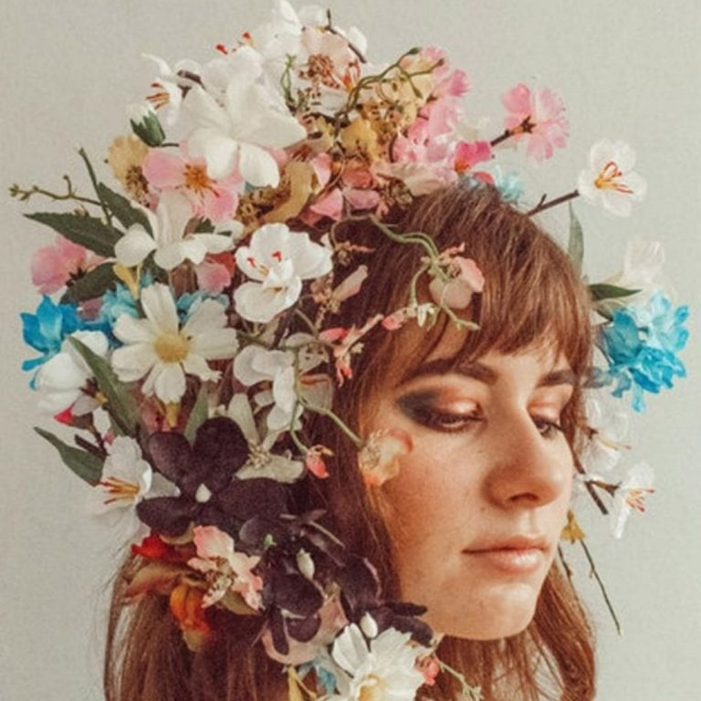 Flower Portrait Photography Fake @FromBeeWithLove Bronte Huskinson