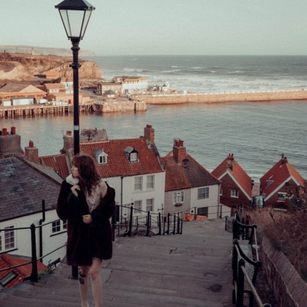 Whitby Dracula 199 steps @FromBeeWithLove Bronte Huskinson