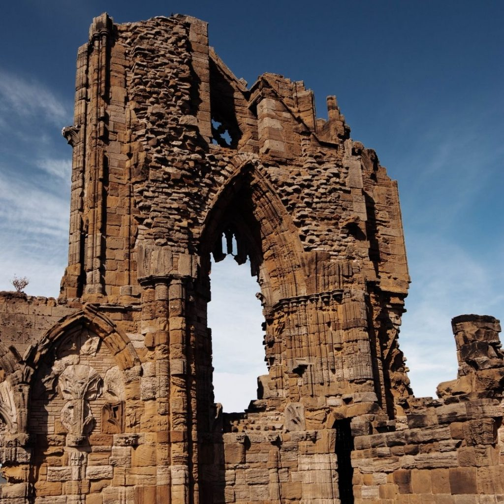 Whitby Dracula abbey ruins @FromBeeWithLove Bronte Huskinson