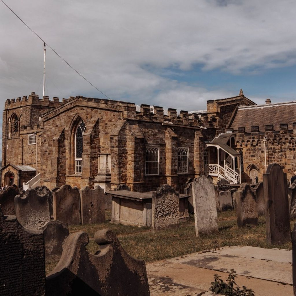 Whitby Dracula St Marys @FromBeeWithLove Bronte Huskinson