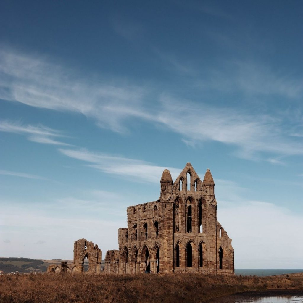 Whitby Dracula Abbey @FromBeeWithLove Bronte Huskinson