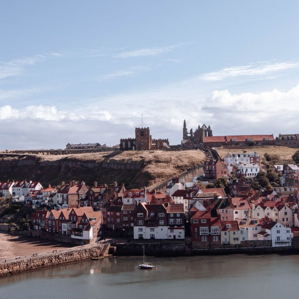 Whitby Dracula view @FromBeeWithLove Bronte Huskinson