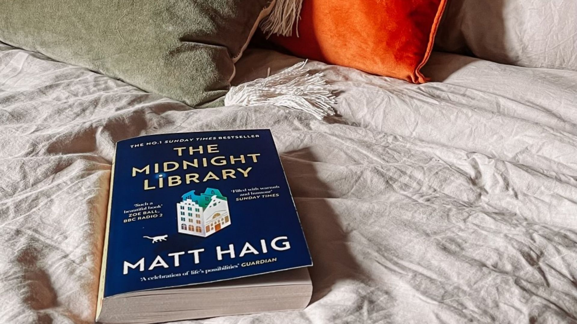The Midnight Library Book Review by @FromBeeWithLove Bronte Huskinson