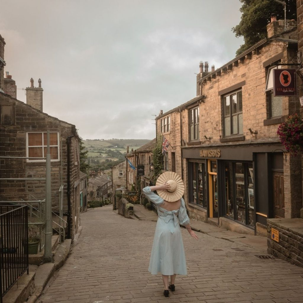@FromBeeWithLove Bronte Huskinson Wuthering Heights Locations Haworth Town