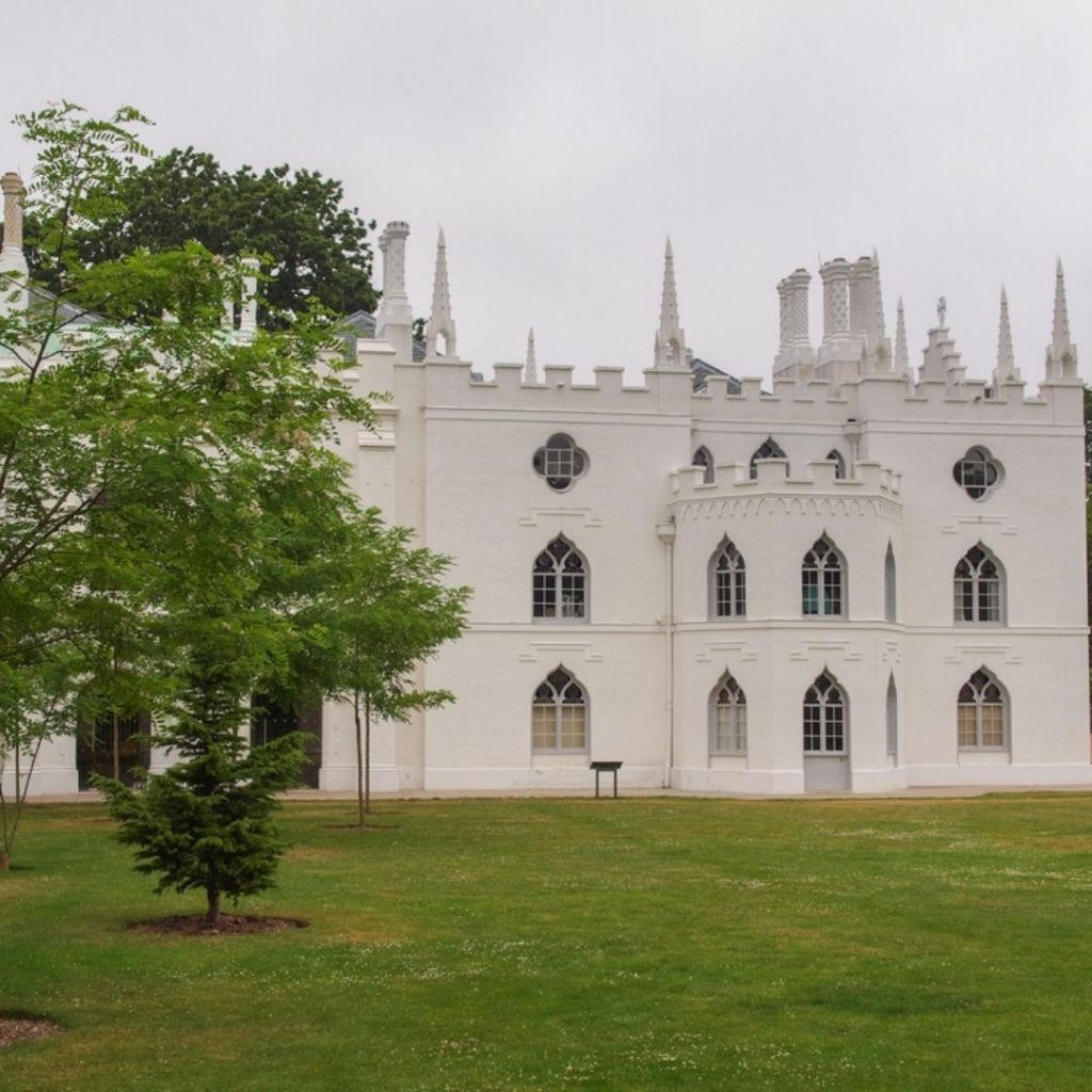 @FromBeeWithLove Gothic Literary Locations Strawberry Hill House